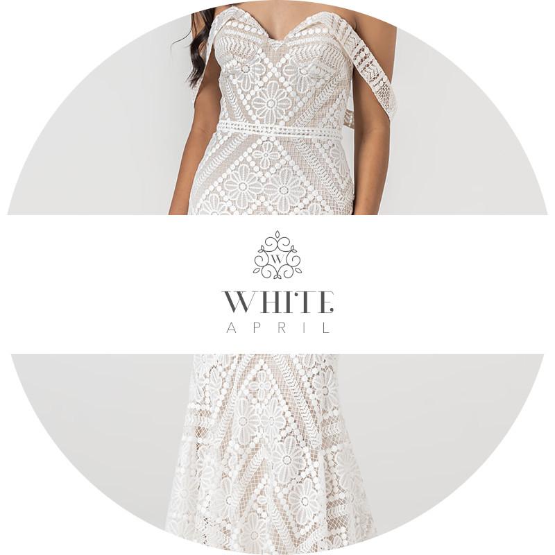 Brautkleider white april